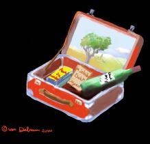 Op reis - koffertje (2000)